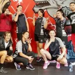 Netball team does crossfit